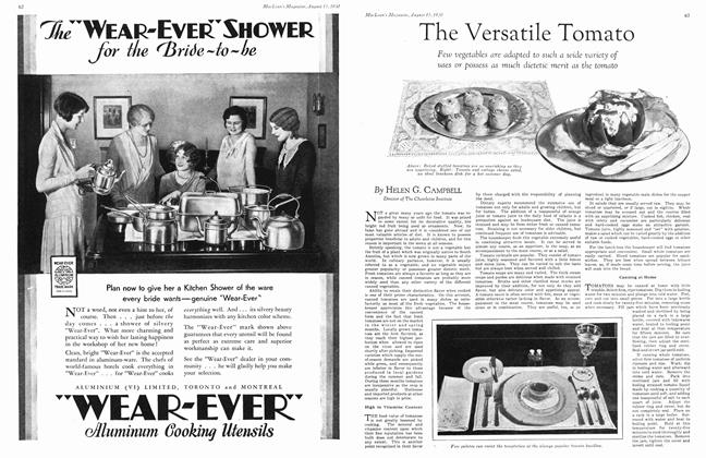 Article Preview: The Versatile Tomato, August 1930   Maclean's