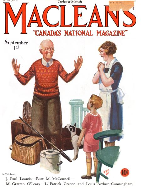 Issue: - September 1st 1930 | Maclean's