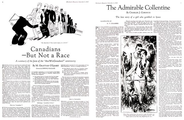 Article Preview: The Admirable Collentine, September 1st 1930 1930 | Maclean's
