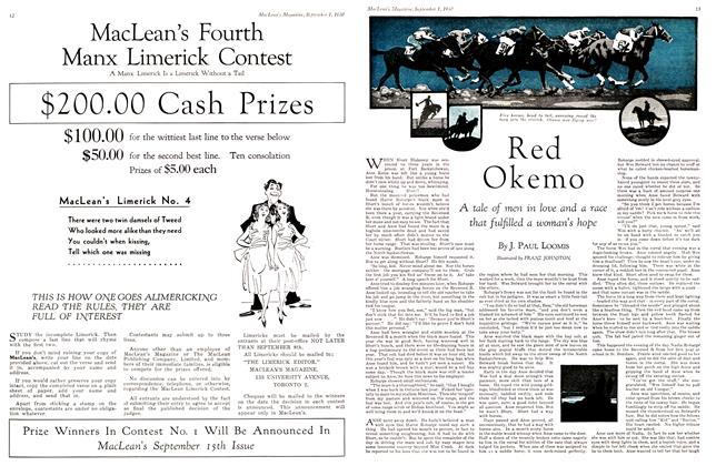Article Preview: Red Ok emo, September 1st 1930 1930 | Maclean's