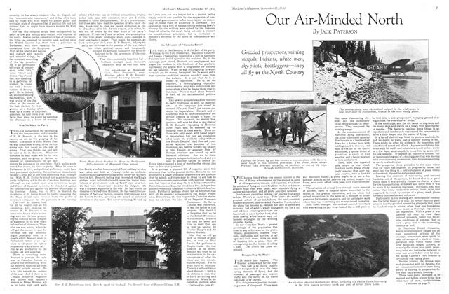 Article Preview: Our Air-Minded North, September 1930 | Maclean's
