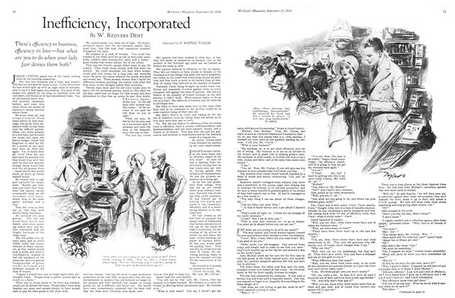 Article Preview: Inefficiency, Incorporated, September 1930 | Maclean's