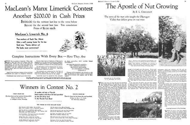 Article Preview: The Apostle of Nut Growing, October 1930 | Maclean's