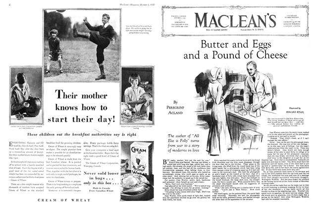 Article Preview: Butter and Eggs and a Pound of Cheese, October 1930 | Maclean's