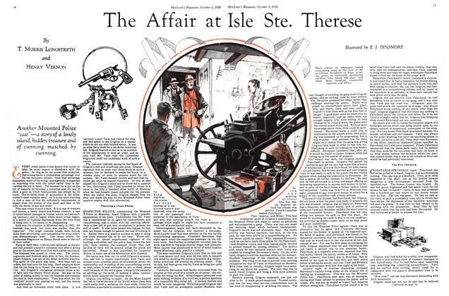 Article Preview: The Affair at Isle Ste. Therese, October 1930 | Maclean's