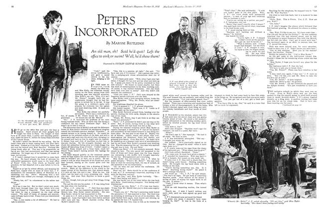 Article Preview: PETERS INCORPORATED, October 1930 | Maclean's