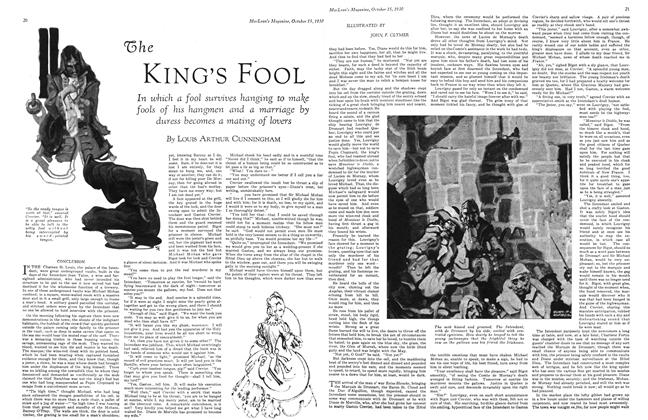 Article Preview: The KING'S FOOL, October 1930 | Maclean's