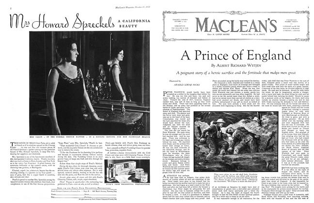 Article Preview: A Prince of England, October 1930 | Maclean's