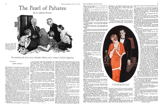 Article Preview: The Pearl of Paharee, October 1930 | Maclean's