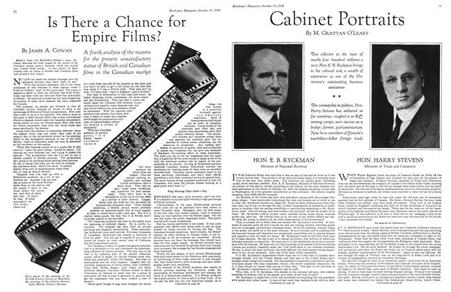 Article Preview: Cabinet Portraits, October 1930 | Maclean's