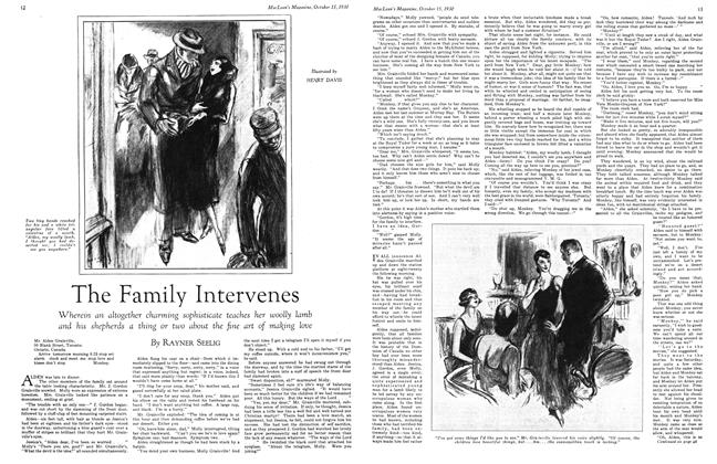 Article Preview: The Family Intervenes, October 1930 | Maclean's