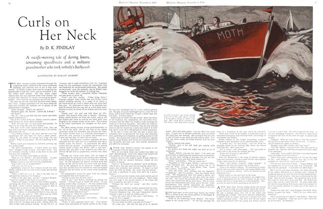 Article Preview: Curls on Her Neck, November 1st 1930 1930 | Maclean's