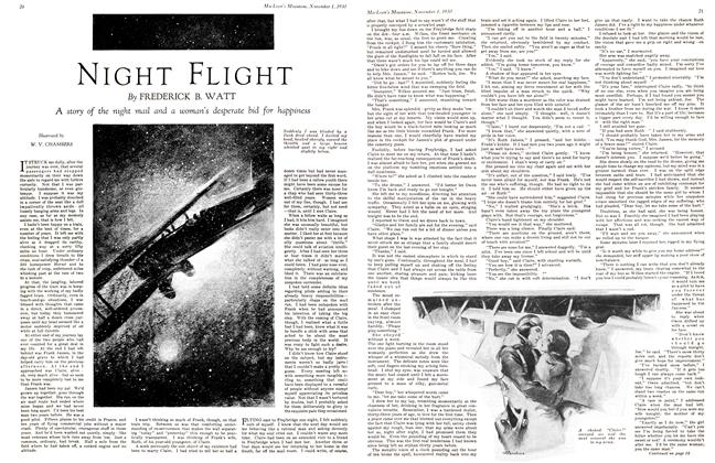 Article Preview: NIGHT FLIGHT, November 1st 1930 1930 | Maclean's