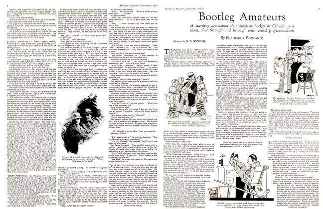 Article Preview: Bootleg Amateurs, November 1st 1930 1930 | Maclean's
