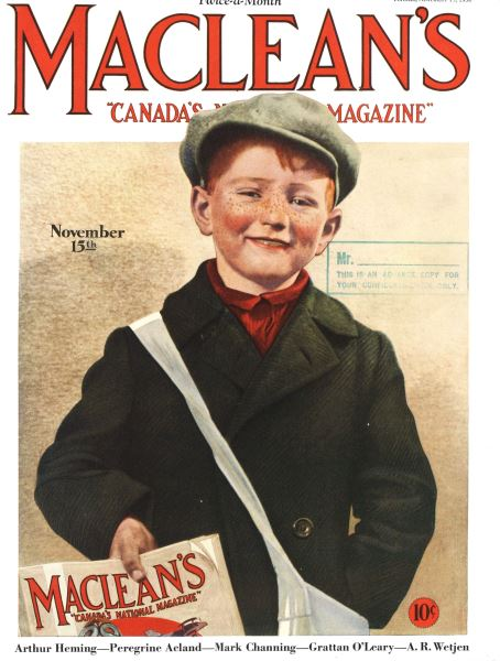 Issue: - November 15th 1930 | Maclean's