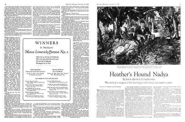 Article Preview: Heather's Hound Nadya, November 15th 1930 1930 | Maclean's
