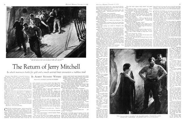 Article Preview: The Return of Jerry Mitchell, November 15th 1930 1930 | Maclean's