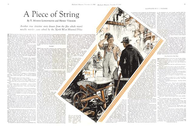 Article Preview: A Piece of String, November 15th 1930 1930 | Maclean's