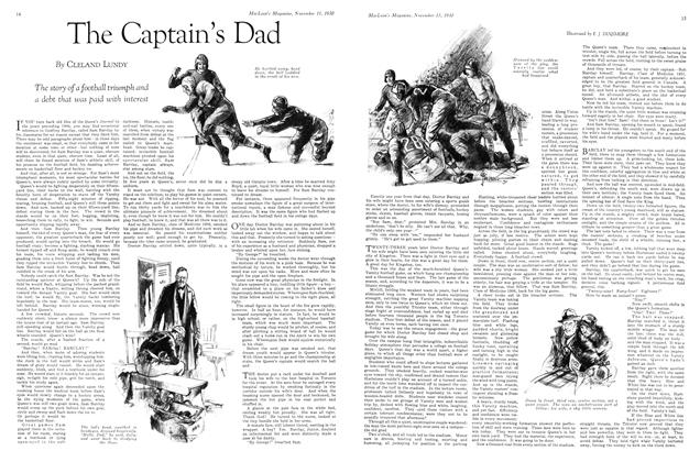 Article Preview: The Captain's Dad, November 15th 1930 1930 | Maclean's