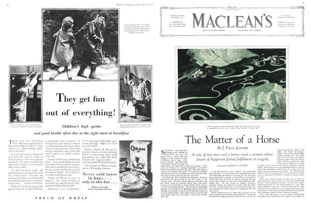 Article Preview: The Matter of a Horse, December 1st 1930 1930 | Maclean's