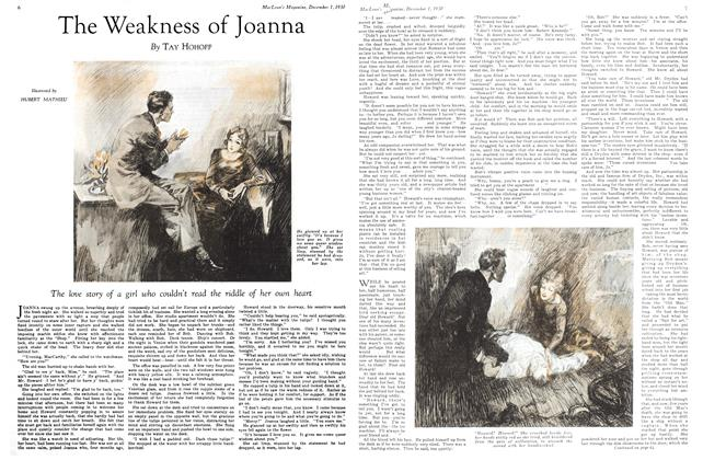 Article Preview: The Weakness of Joanna, December 1st 1930 1930 | Maclean's