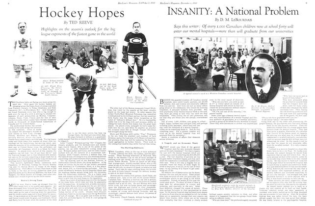 Article Preview: Hockey Hopes, December 1st 1930 1930 | Maclean's