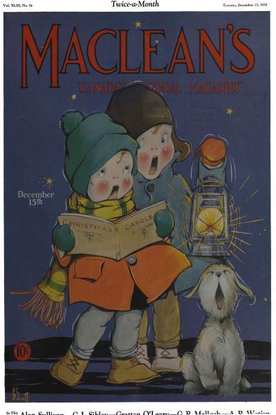 Issue: - Decemder 15, 1930 | Maclean's