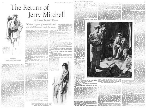 Article Preview: The Return of Jerry Mitchell, Decemder 15, 1930 1930 | Maclean's