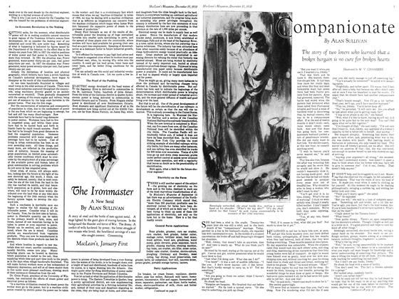 Article Preview: The Ironmaster, December 15, 1930 1930 | Maclean's