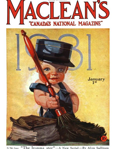 Issue: - January 1st 1931   Maclean's