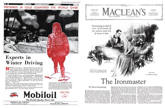 Article Preview: The Ironmaster, January 1st 1931 1931 | Maclean's