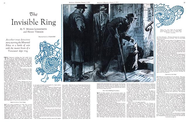Article Preview: The Invisible Ring, January 1st 1931 1931 | Maclean's