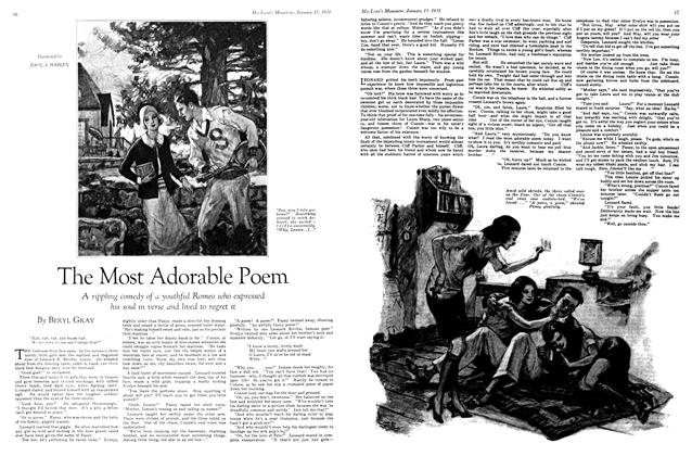 Article Preview: The Most Adorable Poem, January 1931 | Maclean's