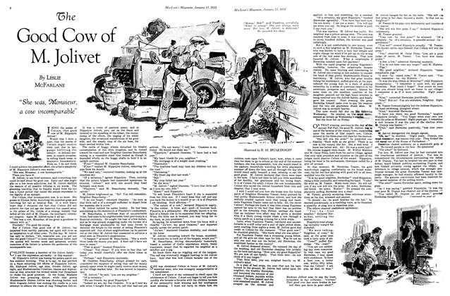 Article Preview: The Good Cow of M. Jolivet, January 1931 | Maclean's