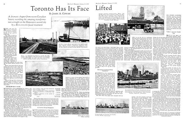 Article Preview: Toronto Has Its Face Lifted, January 1931 | Maclean's