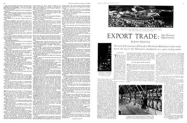 Article Preview: EXPORT TRADE: Our National Opportunity, January 1931 | Maclean's