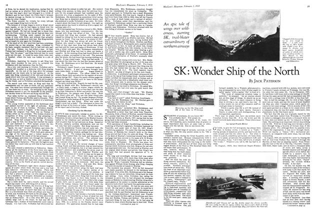 Article Preview: SK: Wonder Ship of the North, February 1ST 1931 1931 | Maclean's