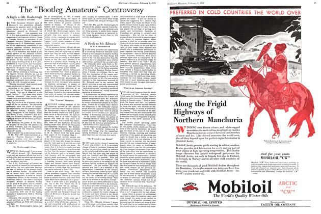 Article Preview: A Reply to Mr. Roxborough, February 1ST 1931 1931 | Maclean's
