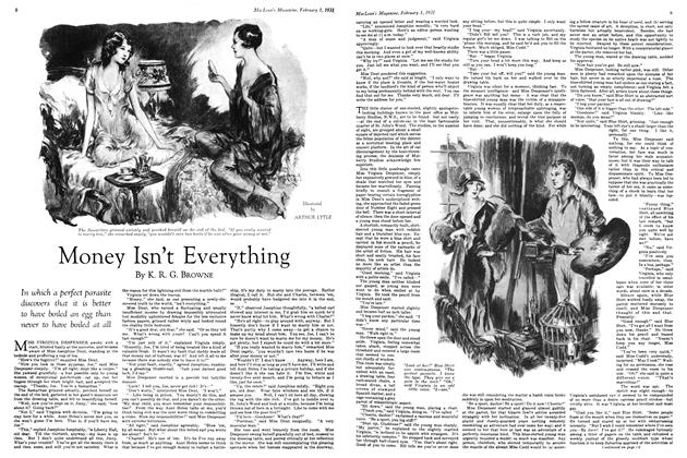 Article Preview: Money Isn't Everything, February 1ST 1931 1931 | Maclean's