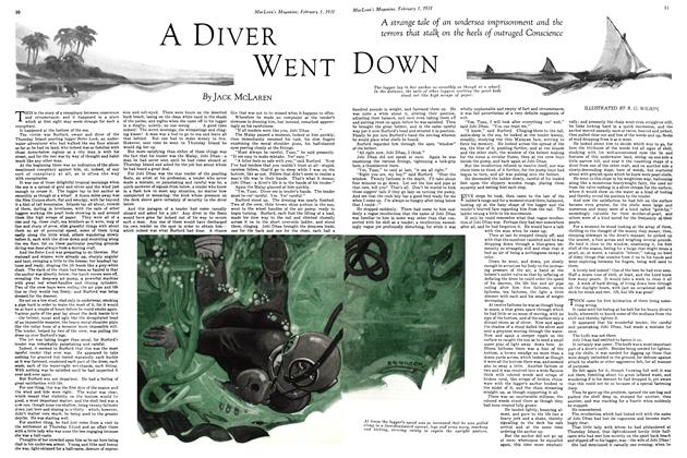 Article Preview: DIVER WENT DOWN, February 1ST 1931 1931 | Maclean's