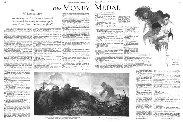 Article Preview: The MONEY MEDAL, February 1931 | Maclean's