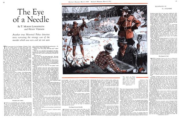 Article Preview: The Eye of a Needle, March 1st 1931 1931 | Maclean's