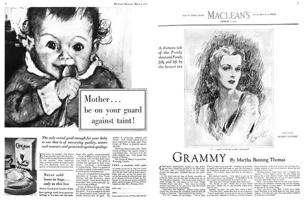 Article Preview: GRAMMY, March 1st 1931 1931 | Maclean's
