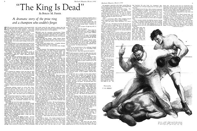 "Article Preview: ""The King Is Dead"", March 1st 1931 1931 