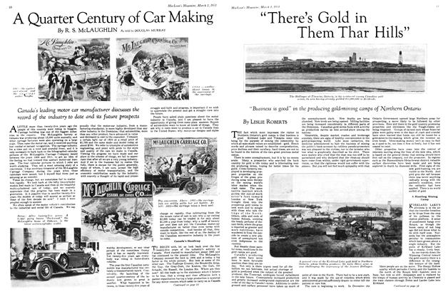 "Article Preview: ""There's Gold in Them Thar Hills"", March 1st 1931 1931 
