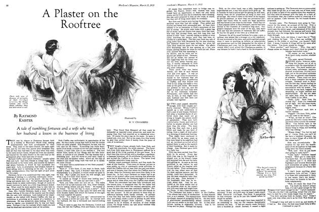 Article Preview: A Plaster on the Rooftree, March 1931 | Maclean's