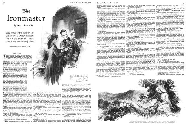Article Preview: The Ironmaster, March 1931 | Maclean's