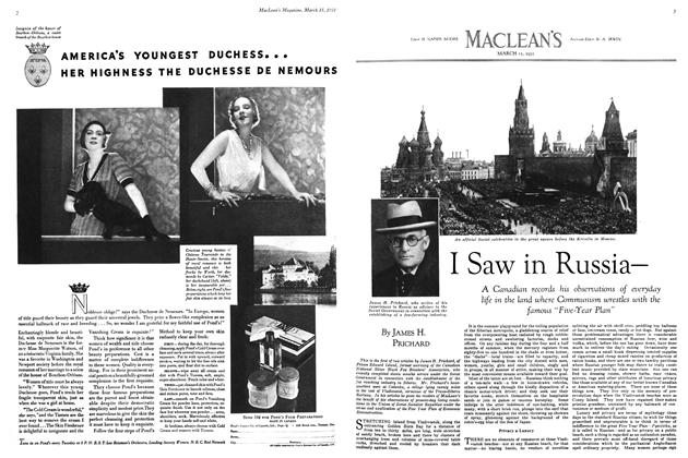 Article Preview: I Saw in Russia—, March 1931 | Maclean's