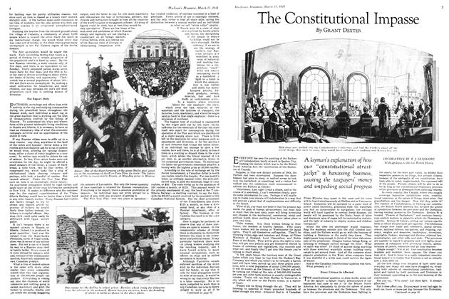 Article Preview: The Constitutional Impasse, March 1931 | Maclean's