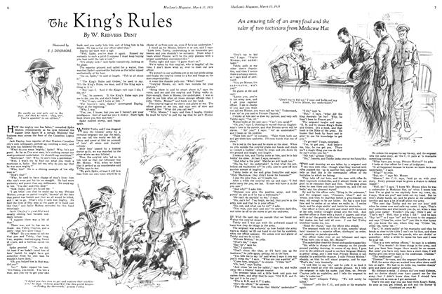 Article Preview: The King's Rules, March 1931 | Maclean's